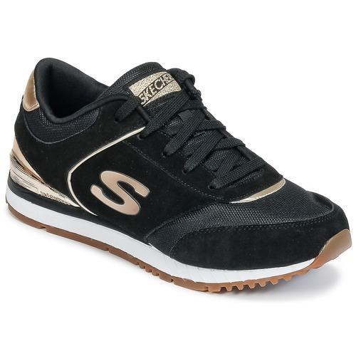 Skechers SUNLITE Nero / Dore  Scarpe Sneakers basse Donna 64,95