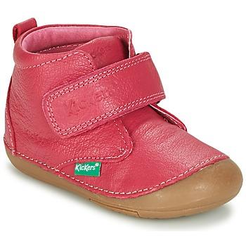 Scarpe Bambina Stivaletti Kickers SABIO Fucsia