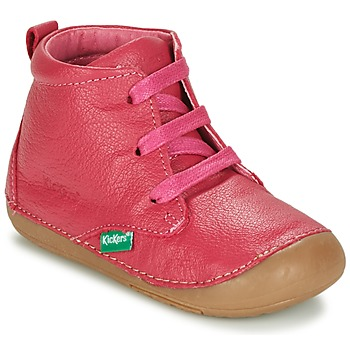 Scarpe Bambina Stivaletti Kickers SONICE Fucsia