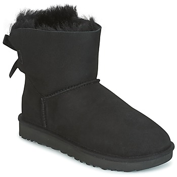 Scarpe Donna Stivaletti UGG MINI BAILEY BOW II Nero