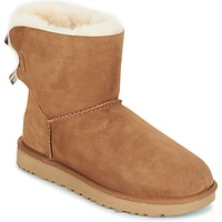 Scarpe Donna Stivaletti UGG MINI BAILEY BOW II Marrone