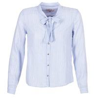 Abbigliamento Donna Camicie Cream CAMA STRIPED SHIRT Blu
