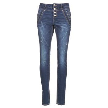 Abbigliamento Donna Jeans dritti Cream NYNNE JEANS BAILEY FIT Blu