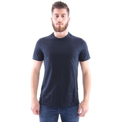 Abbigliamento Uomo T-shirt maniche corte Girelli Bruni T-SHIRT BLU NAVY Blue