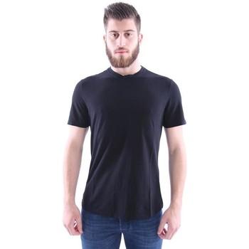 Abbigliamento Uomo T-shirt maniche corte Girelli Bruni T-SHIRT NERA Black