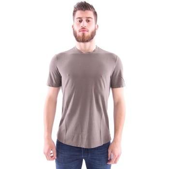 Abbigliamento Uomo T-shirt maniche corte Girelli Bruni T-SHIRT MARRONE Brown