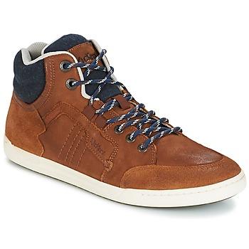 Scarpe Uomo Sneakers alte Kickers CRAFFITI Camel