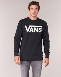 Abbigliamento Uomo Felpe Vans VANS CLASSIC CREW Nero