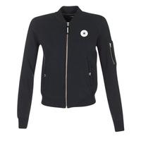 Abbigliamento Donna Giacche / Blazer Converse CORE MA-1 BOMBER Nero