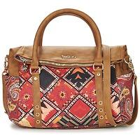 Borse Donna Borse a mano Desigual BOLS_LOVERTY BOHO Camel / Multicolore