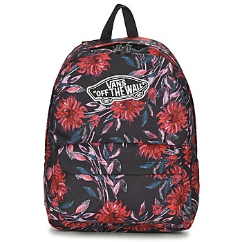 Borse Donna Zaini Vans REALM BACKPACK Nero / Multicolore