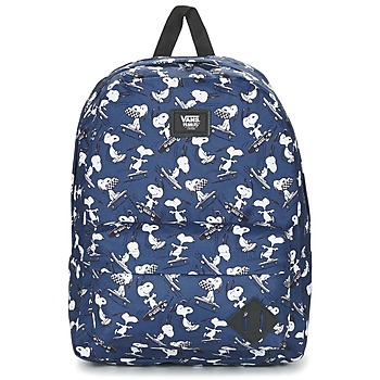 Borse Zaini Vans OLD SKOOL II BACKPACK Blu / Bianco