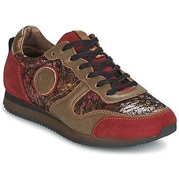 Scarpe Donna Sneakers basse Pataugas IDOL Rosso / Marrone