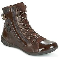 Scarpe Donna Sneakers alte Pataugas NOUR Marrone
