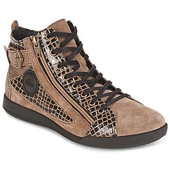 Scarpe Donna Sneakers alte Pataugas PALME Beige