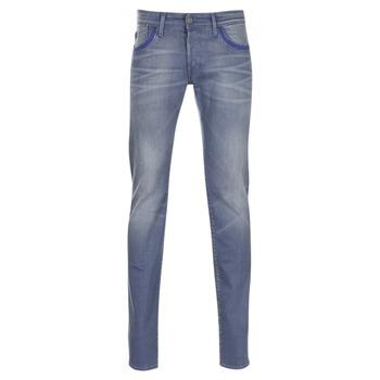 Abbigliamento Uomo Jeans slim Le Temps des Cerises 711 Grigio