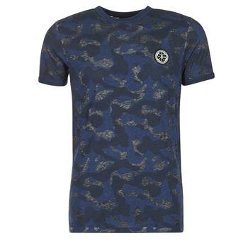 Abbigliamento Uomo T-shirt maniche corte Le Temps des Cerises CAMOSTORK MARINE