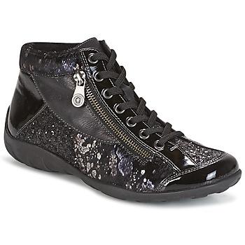 Scarpe Donna Sneakers alte Remonte Dorndorf DORA Nero