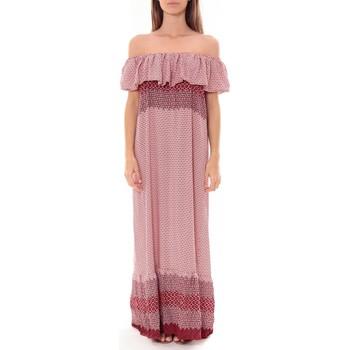 Abbigliamento Donna Abiti lunghi By La Vitrine Robe Longue Care  of you  Rouge F50055 Rosso
