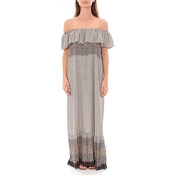 Abbigliamento Donna Abiti lunghi By La Vitrine Robe Longue Care  of you Noir F50055 Nero