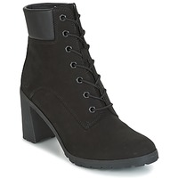 Scarpe Donna Stivaletti Timberland ALLINGTON 6IN LACE UP Nero