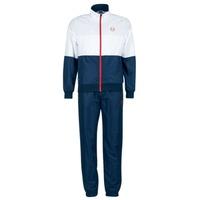 Abbigliamento Uomo Tuta Sergio Tacchini LACKSON TRACKSUIT Marine / Bianco