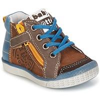 Scarpe Bambino Sneakers alte Babybotte AKRO Marrone / Blu