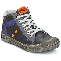 Scarpe Bambino Sneakers alte Babybotte KANADA Grigio / SCURO