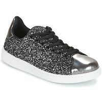 Scarpe Donna Sneakers basse Yurban HELVINE Grigio / Glitter