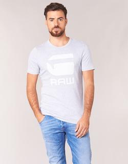 Abbigliamento Uomo T-shirt maniche corte G-Star Raw DRILLON Grigio