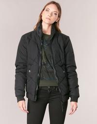 Abbigliamento Donna Giubbotti G-Star Raw STRETT CHEVRON JKT Nero