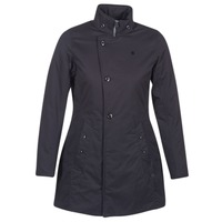 Abbigliamento Donna Parka G-Star Raw MINOR CLASSIC PADDED SLIM COAT Nero