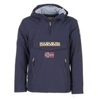 Abbigliamento Uomo Parka Napapijri RAINFOREST POCKET Marine