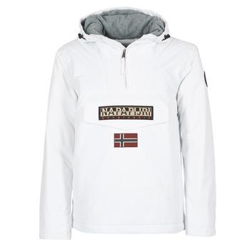 Abbigliamento Uomo Parka Napapijri RAINFOREST Bianco