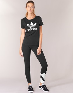 Abbigliamento Donna Leggings adidas Originals EQT LEGGINGS Nero / Bianco