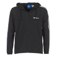 Abbigliamento Uomo giacca a vento adidas Originals 3 STRIPED WB Nero
