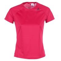 Abbigliamento Donna T-shirt maniche corte adidas Performance D2M TEE LOSE Rosa