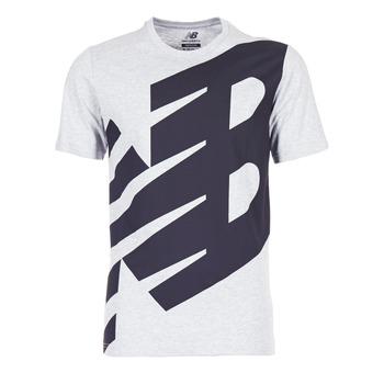 Abbigliamento Uomo T-shirt maniche corte New Balance NB ESSENTIEL T Grigio