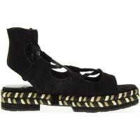 Scarpe Donna Espadrillas Apepazza scarpe donna espadrillas MRA02/SUEDE MIA NERO Nero