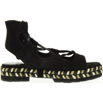 Scarpe Donna Espadrillas Apepazza scarpe donna espadrillas MRA02/SUEDE MIA NERO Pelle