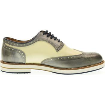 Scarpe Uomo Richelieu Exton scarpe uomo inglesine 608 GRIGIO/BIANCO Grigio / bianco