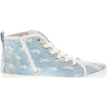 Scarpe Bambino Sneakers alte Lelli Kelly scarpe bambina sneakers alte LK4278 ROXY BLU JEANS Blu jeans