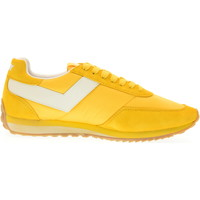 Scarpe Uomo Sneakers basse Pony scarpe uomo sneakers basse 555A-A3 RACER 3 Giallo / bianco