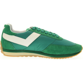Scarpe Uomo Sneakers basse Pony scarpe uomo sneakers basse 555A-A4 RACER 3 Verde / bianco