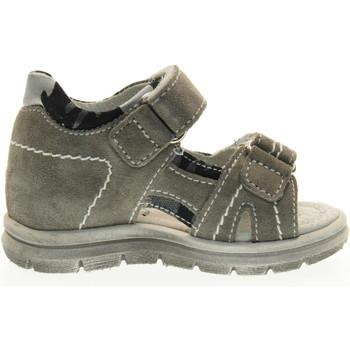 Scarpe Unisex bambino Sandali Nero Giardini scarpe bambino sandali P724280M/106 (19/22) Pelle