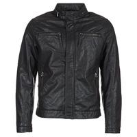 Abbigliamento Uomo Giacca in cuoio / simil cuoio Esprit VARDA Nero
