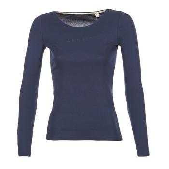 Abbigliamento Donna T-shirts a maniche lunghe Esprit GIMUL MARINE