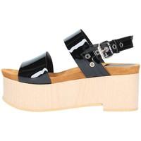 Scarpe Donna Sandali Emporio Di Parma 830 Sandalo Donna Nero Nero