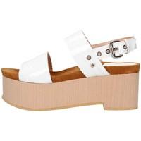 Scarpe Donna Sandali Emporio Di Parma 830 Sandalo Donna Bianco Bianco