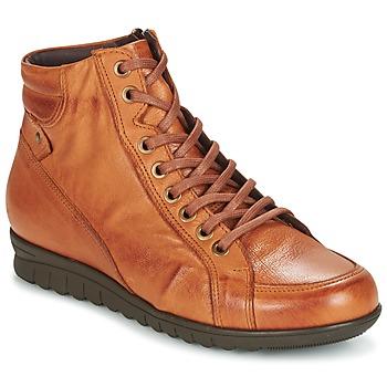 Scarpe Donna Sneakers alte Pitillos 2631 Cognac
